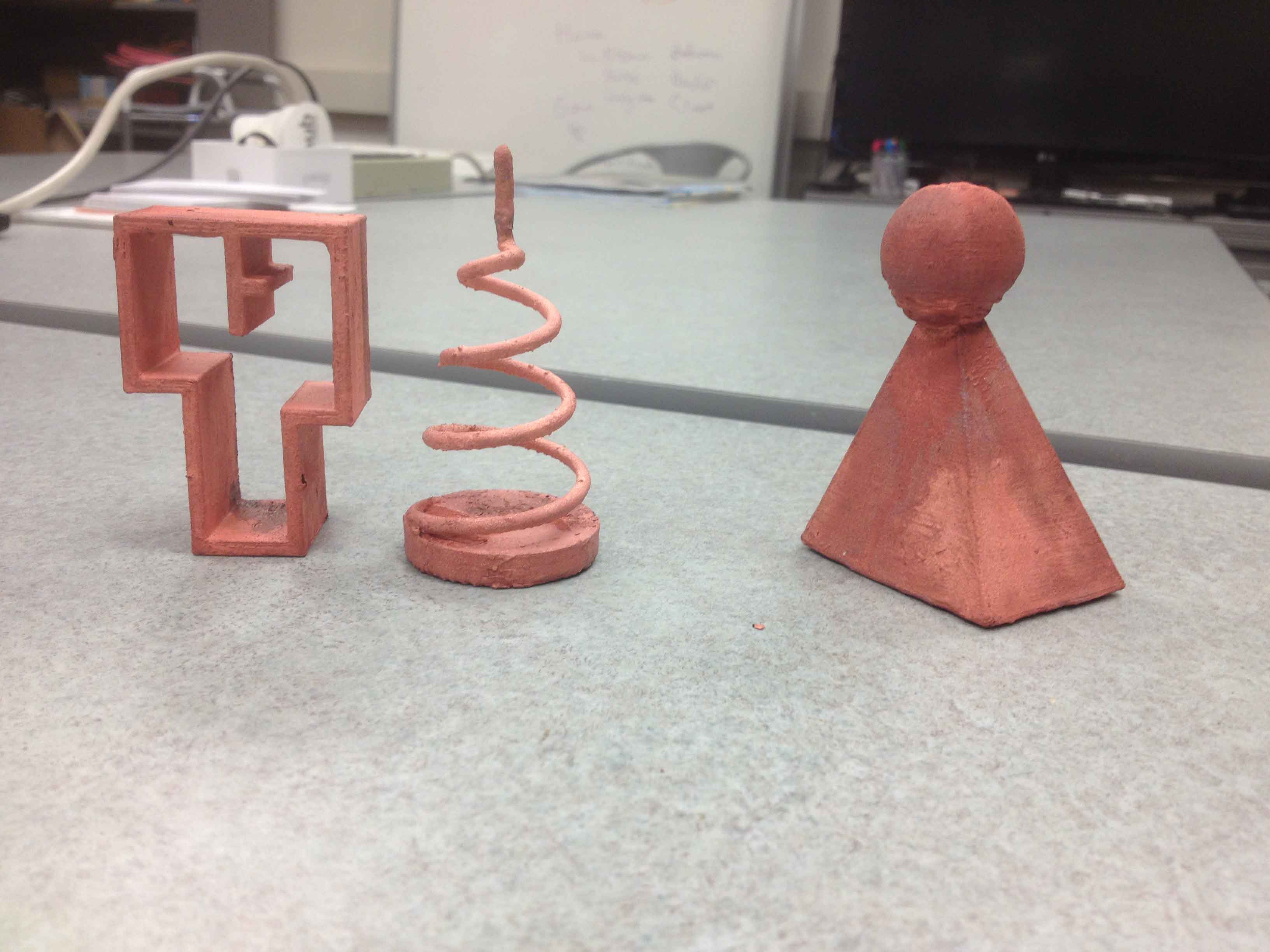 electropating 3d prints copper